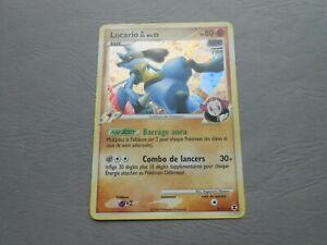 Carte pokémon - Platine Rivaux émergeants 8/111 Lucario PV80 HOLO Rare - FR TBE