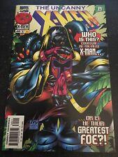 Uncanny X-men#345 Incredible Condition 9.4(1997)  1st Maggott App