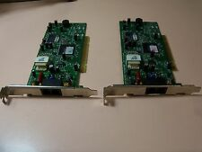 CIS Technology- LOT of 2ea/ 56K  #M1-5614PM3 High Speed Fax PCI modems