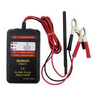 Automotive Glow Plug Analyzer 12V Engine Tester Car Failure Diagnostic Tool