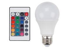 LAMPE LED AMPOULE SPOT E27 RVB MULTICOLORE 7,5W AVEC TELECOMMANDE