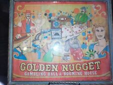 Collectible Framed Picture -Golden Nugget CollageStyle (color) Vintage Frame