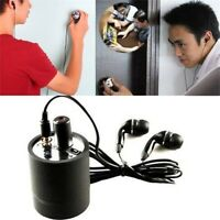 Highly Sensitive Wall microphone voice bug/ear listen through wall device