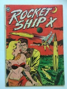 Rocket Ship X #1, UNRESTORED, nice