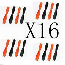 16pcs HM-QR-Ladybird-Z-01 Propellers For WALKERA Mini RC UFO QR W100 H107 X4 385