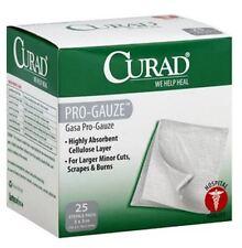 "Curad Sterile Pro-Gauze Pads 3"" x 3"", 25 ea"