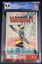 Savage Wolverine #1 CGC 9.8  3/13 3716138020 - Frank Cho story, cover & art