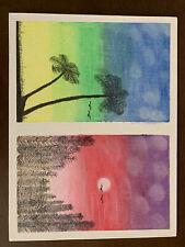 New ListingOil Pastel On Canvas
