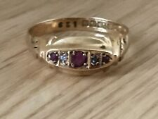 Superb 18ct Gold Ruby & Diamond Brilliant Cut Shouldered Cocktail Dress Ring