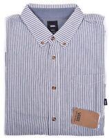 Vans Men's Classic Fit Houser Stripe Casual Button Up Shirt Size Large