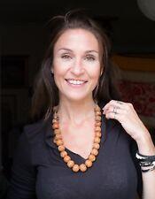 Venetian/Afican/ 25 Beads Trade Bead Necklace,