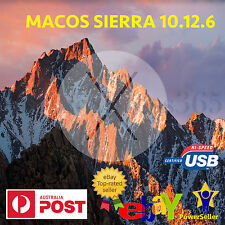 MAC MacOS SIERRA 10.12.6 Installer Bootable USB Drive formacbook Pro Air iMac OS