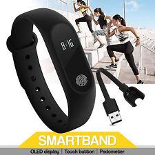 M2 Bracelet Montre Intelligent Fréquence Cardiaque Moniteur étanche Podomètre FR