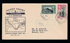 Ceylon nave SS campione WW2 MAIDEN VOYAGE 1940 American Export Lines
