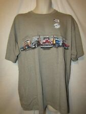 mens vintage ford surfer woody wagons t-shirt L nwt beige heather