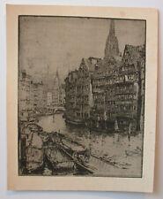 """Luigi Kasimir """"Hamburg, Fleet"""""""