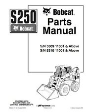 BOBCAT S250 PARTS MANUAL REPRINTED COMB BOUND