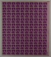 US SCOTT 1036 PANE OF 100 ABRAHAM LINCOLN STAMPS 4 CENT FACE MNH