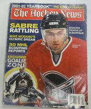 The Hockey News Magazine Miroslav Satan Sabre Rattling 2001-02 YHearbook 061215R