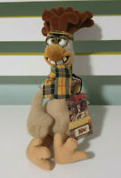 "Dreamworks Chicken Run Mac ""The Brains"" Plush Toy with Swing Tag 26cm Tall!"