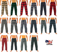 Norty Mens Cotton Yarn Flannel Pajama Lounge Sleep Pant - 16 Prints Available