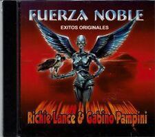 Fueza Noble  Richie Lance & Gabino Pampini Exitos Originales BRAND NEW SEALED CD