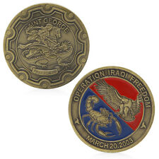 Operation Iraqi Freedom Saint George Commemorative Challenge Coin Gift Souvenir
