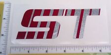 Pace Trailer - ST (Red/Silver) Decal - Part #670460 (from OEM supplier)