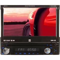 """Dual XDVD1170 1-DIN CD/MP3/DVD Receiver with 7"""" LCD Touchscreen USB/SD inptut"""