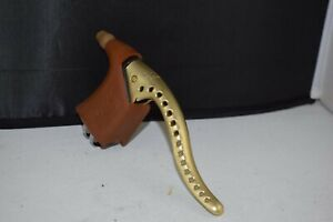 Gold MAFAC Course Competition brake lever for left or right position vintage nos