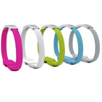 Micro USB Charging Data Sync Cable For Phone Bracelet Wrist Band Charger RDR