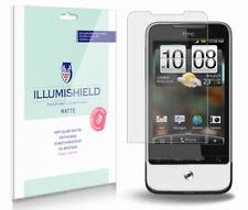 iLLumiShield Matte Screen Protector w Anti-Glare/Print 3x for HTC Legend