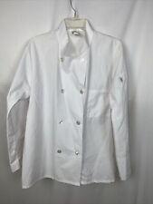 Five Star Chef Apparel Coat Size M White B15*H