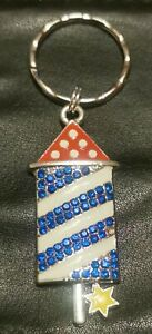Rocket keyring brand new with star detail slightly imperfect