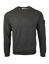 Stone Island Khaki Dust Treatment Crew Neck Sweatshirt - 62290