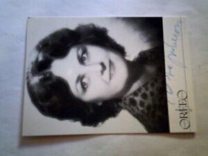 Original Autograph - Edita Gruberova - Signiert Foto (2)