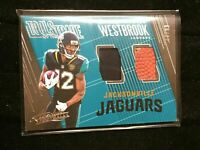 F20515  2018 Absolute Tools of the Trade Dual Ball/Jersey Dede Westbrook/99