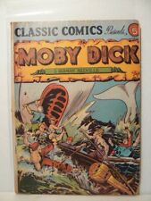 """Classics Illustrated #5, """" Moby Dick"""" HRN 21"""