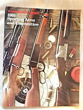 Vintage 1981 Winchester Western Sporting Arms and Ammunition Catalog 40 Pages