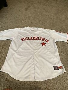 Philadelphia Stars Philly Negro League Baseball Museum Jersey XXL Vintage NWT