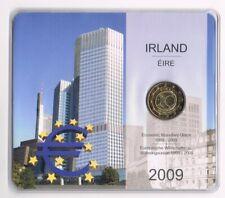 IRELAND IERLAND 2 EURO 2009  IN BLISTER 10 YEARS MONETARY UNION