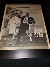 Edgar Winter Group Shock Treatment Rare Original Promo Poster Ad Framed!