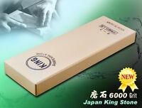 Japanese King Whetstone 6000 Grit Sharpening Stone Cutlery Sharpeners