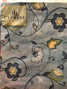 Cypress C. Floral Paisley Cocktail Beverage Napkins 20 Ct.Serviette