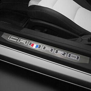 One (single) illuminated door sill plate for Chevrolet Camaro 2016-2021