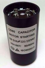 Motor Start Capacitor Round 430-516 uF MFD 220V 250V VAC 46x86mm CD60