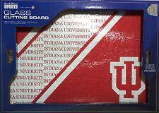 Indiana University Hoosiers IU Tempered Glass Cutting Board Barware