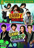 Camp Rock 1 and 2 [DVD][Region 2]