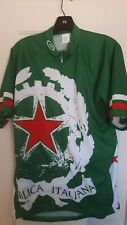 REPVBLICA ITALIANA Men's Bicycle Jersey In Size XL...NICE!!..FAST SHIPPING!!