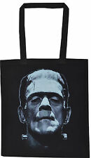 FRANKENSTEIN  COTTON TOTE  BAG B-MOVIE HORROR BORIS KARLOFF VINTAGE HALLOWEEN